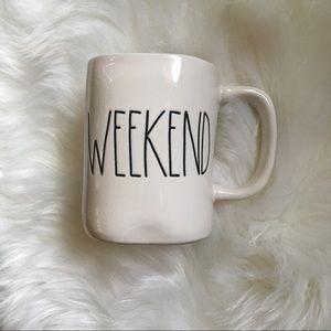 Rae Dunn Weekend Mug